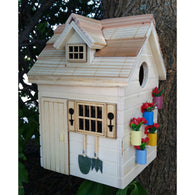 Bird Houses Potting Shed - Natural