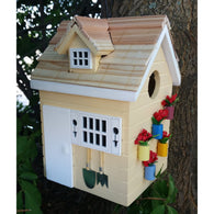 Bird Houses Potting Shed - Yellow