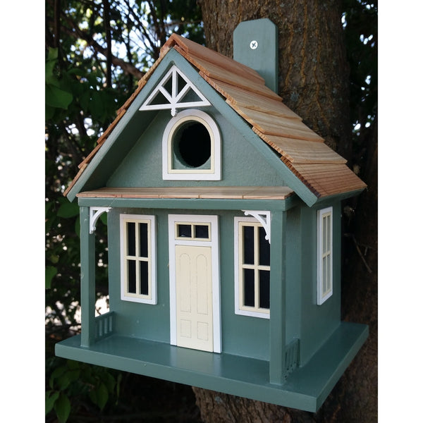 Bird Houses Santa Cruz Cottage - Green