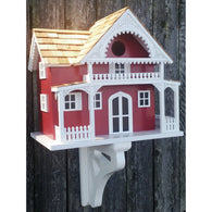 Bird Houses Island Summer Cottage - Red