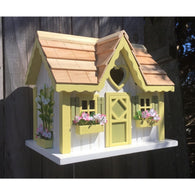 Wood Birdhouse Sweetheart Cottage
