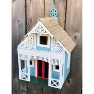 Wood Birdhouse Angel Cottage