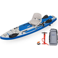 "Hybrid HB96K 9'6"" SUP Discount Fishing Package, Inflatable Paddle Boards - SavvyNiche.com"