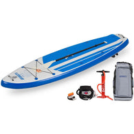 "Hybrid HB96K 9'6"" SUP Discount Electric Pump Package, Inflatable Paddle Boards - SavvyNiche.com"