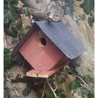 Backyard Birdhouse Wellsville Wren House - Red