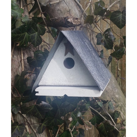 Backyard Birdhouse Friendsville Wren House - White