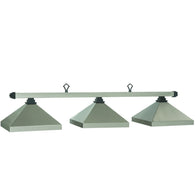 Kitsilano Pewter Pool Lamp Light, Metal Pool Table Lighting - SavvyNiche.com