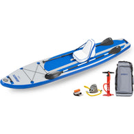 Sea Eagle LB126K Long Board Inflatable SUP Deluxe Package, Inflatable Paddle Boards - SavvyNiche.com
