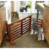 Folding Pet Dog Gate Hi Gate-n-Crate