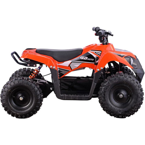 Monster 36v 500w ATV Orange, Kids ATV Quad 4 Wheelers - SavvyNiche.com