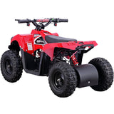 Monster 36v 500w ATV Red, Kids ATV Quad 4 Wheelers - SavvyNiche.com