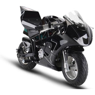 Electric Pocket Bike GP 36v 500w Black, Kids Motorcycle / Dirt Bikes - SavvyNiche.com
