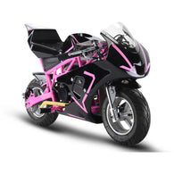 Gas Pocket Bike GP 33cc 2-stroke Pink, Gas Powered Ride On Vehicles - SavvyNiche.com