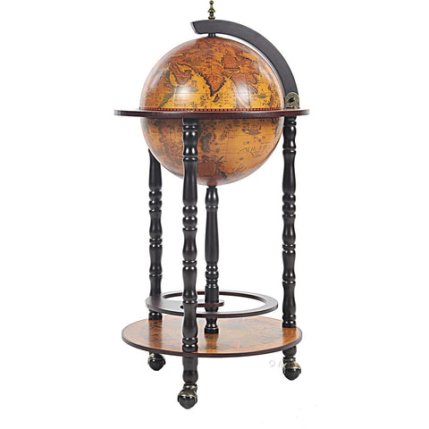 Alcohol Globe Bar Table Stand, Bar Globes - SavvyNiche.com