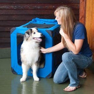 Portable Soft Crate Cage for Large Dogs, Pet Crates - SavvyNiche.com
