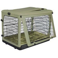 Steel Crate Folding Cage for Small Dogs, Pet Crates - SavvyNiche.com