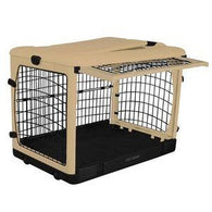 Steel Crate For Large Dogs Folding & Portable, Pet Crates - SavvyNiche.com