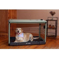 Large Dog Steel Crate Cage, Pet Crates - SavvyNiche.com