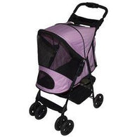 Pink Happy Trails Stroller, Pet Strollers - SavvyNiche.com