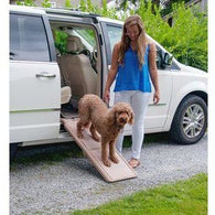 Short Bi-Fold Pet Ramp SupertraX, Pet Ramps - SavvyNiche.com