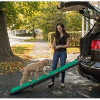 Tri-Fold Travel Lite Pet Ramp with SupertraX, Pet Ramps - SavvyNiche.com