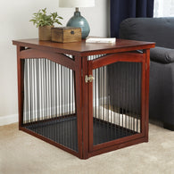 Large Pet Crate and Gate 2 in 1 Design!