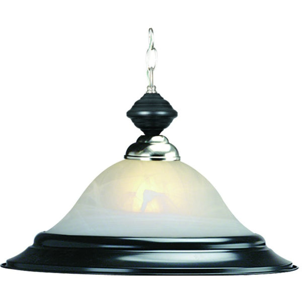 Contemporary Billiards Pendant Lights Black Stainless