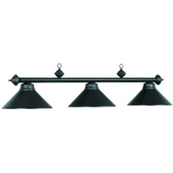 Billiard Light - Matte Black / MB