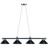 Billiard Light - Matte Black/Stainless