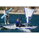 Sea Eagle 380X Explorer Quick Sail Whitewater Kayak Package, Inflatable Kayak - SavvyNiche.com