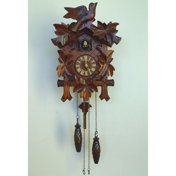 Leaves and Bird, Quartz Cuckoo Clocks - SavvyNiche.com
