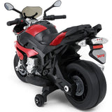 Kid Ride on Toys BMW 12v Motorcycle Red
