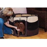 Travel Lite Soft-Sided Pet Pen Removable Top, Pet Pens - SavvyNiche.com