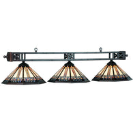 Winslow Billiard Lamp Lights, Stained Glass Pool Table Light - SavvyNiche.com