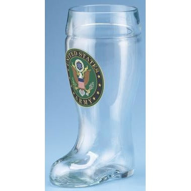 Army Glass Beer Boot