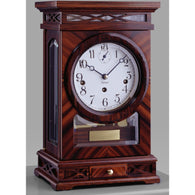 Rosewood, Mechanical Mantel Clocks - SavvyNiche.com