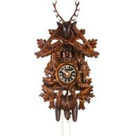 Musical Hunter's Cuckoo Clock