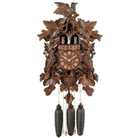 Musical Cuckoo Clock Birds, Leaves, and Chicks in Nest