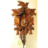 Cuckoo Clock Leaves, Moving Birds Feed Nest, 1 Day Cuckoo Clocks - SavvyNiche.com