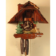 Chimney Sweep Chalet Cuckoo Clock, 1 Day Chalet Cuckoo Clocks - SavvyNiche.com