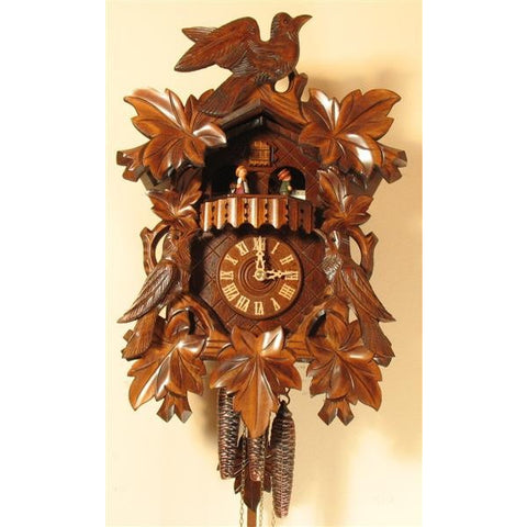 Large Musical Cuckoo Clock, 1 Day Musical Cuckoo Clocks - SavvyNiche.com