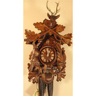 Hunter Deer Head, 8 Day Cuckoo Clocks - SavvyNiche.com