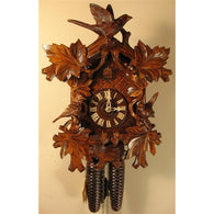 Beautiful Leaves and Bird, 8 Day Cuckoo Clocks - SavvyNiche.com