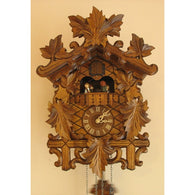 Battery Cuckoo Clocks Leaves and Bird, Quartz Cuckoo Clocks - SavvyNiche.com