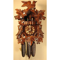 Beautiful Leaves and Bird - Best Seller, 8 Day Musical Cuckoo Clocks - SavvyNiche.com