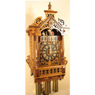 Fretwork Filigree Antique Brass, 8 Day Musical Cuckoo Clocks - SavvyNiche.com