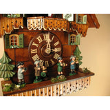 Musicians Oompah Band, 8 Day Musical Chalet Cuckoo Clocks - SavvyNiche.com