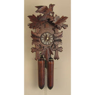 Leaves & Bird, 8 Day Cuckoo Clocks - SavvyNiche.com