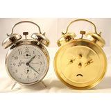 Double Bell Nickel/Silver, Alarm Clocks - SavvyNiche.com