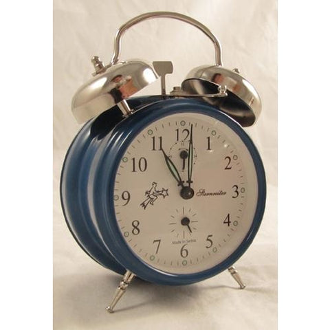 Double Bell Blue, Alarm Clocks - SavvyNiche.com